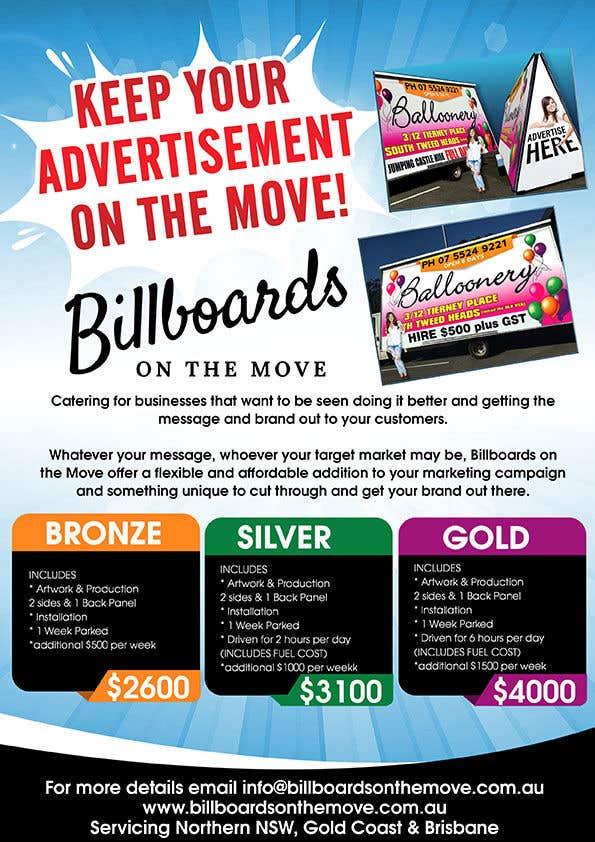 Kilpailutyö #2 kilpailussa Billboards on the Move