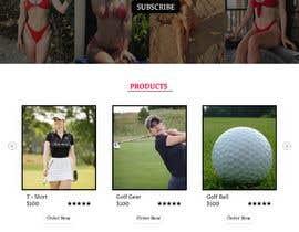 Nro 59 kilpailuun Design Home Screen for Mobile Responsive Website for an Instagram model käyttäjältä soykothosen16030