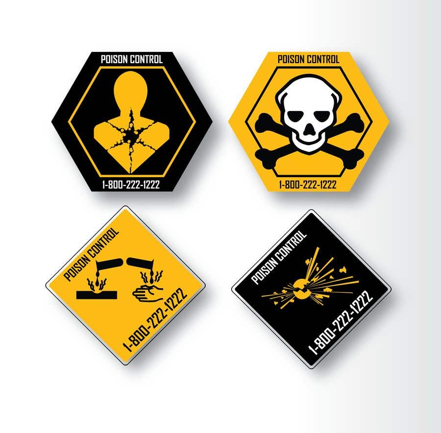 Kilpailutyö #48 kilpailussa Product Safety Stickers