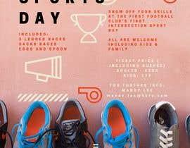 Nro 20 kilpailuun Make a Sports Day Poster - A4 Size käyttäjältä aimanezra