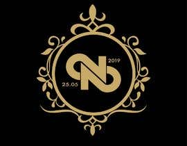 #27 untuk Build a monogram for wedding oleh noobpb54