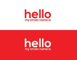 "nº 1 pour Designer a ""hello my strain name is"" sticker par irafiul1996"