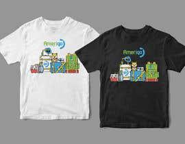 #69 untuk Amerigo's T-shirt for a Travel Kit Design - 21/05/2019 07:00 EDT oleh orrlov