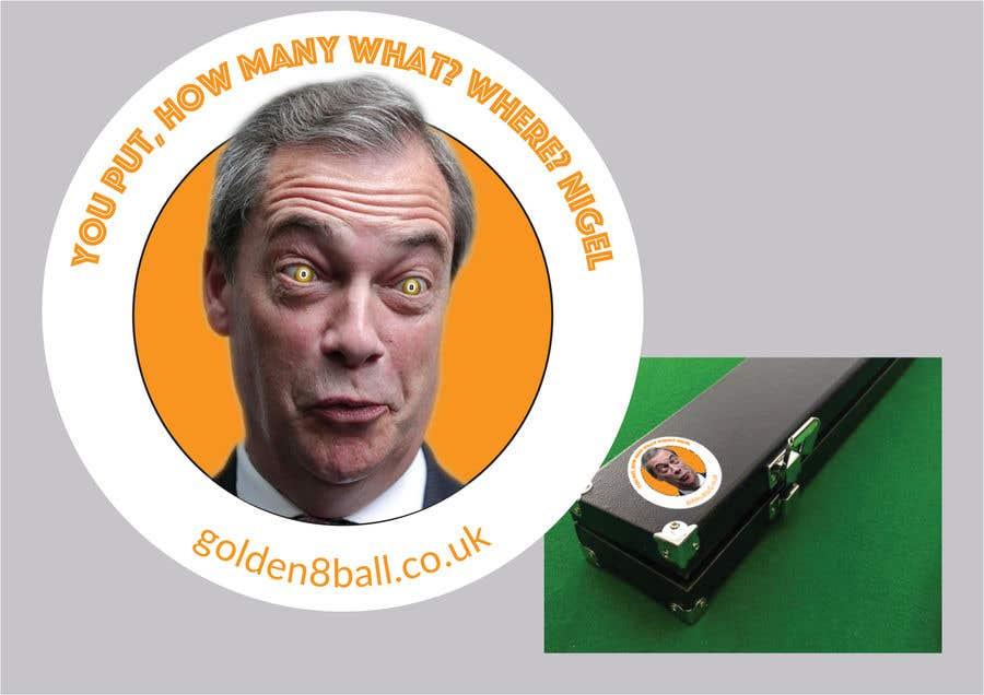 Bài tham dự cuộc thi #2 cho Create Player 'Cue Case Stickers' for Golden 8 Ball - Pool Eight Ball Tournament