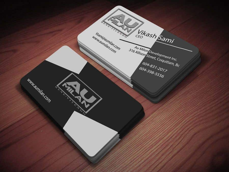 Contest Entry #152 for Design a visit card