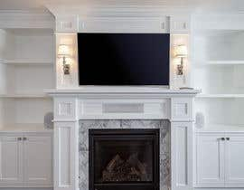 #31 для Design a fireplace accent wall от yalmazkhan