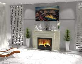 #38 для Design a fireplace accent wall от na4028070