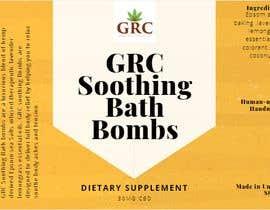 #36 for GRC bath salt cbd oil label by globatyrahazhar