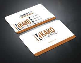 #165 for Design some business card by creativenahiyan