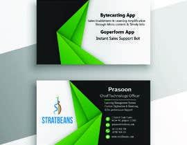 Nro 32 kilpailuun Design Visiting Card käyttäjältä Jiad98