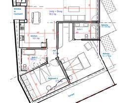 #5 для Interior design and floor plan for city apartment от tamunatoloraia