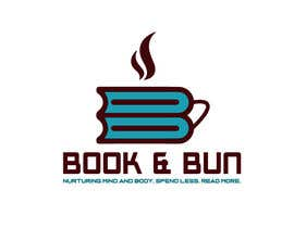 nº 369 pour LOGO FOR A BOOK CAFE par hossainmahbub999