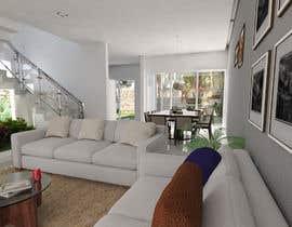 #10 for living area Interior design af frisa01