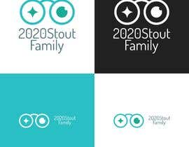 #18 para I'm looking for a family reunion logo that will take place in 2020. So something with 2020, a perfect vision, maybe with glasses, and the family name: Stout  por charisagse