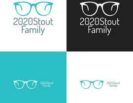 #21 para I'm looking for a family reunion logo that will take place in 2020. So something with 2020, a perfect vision, maybe with glasses, and the family name: Stout  por charisagse