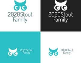 #25 para I'm looking for a family reunion logo that will take place in 2020. So something with 2020, a perfect vision, maybe with glasses, and the family name: Stout  por charisagse
