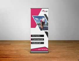 Nro 12 kilpailuun I need a pull up banner designed for our company käyttäjältä sakibtherockboy