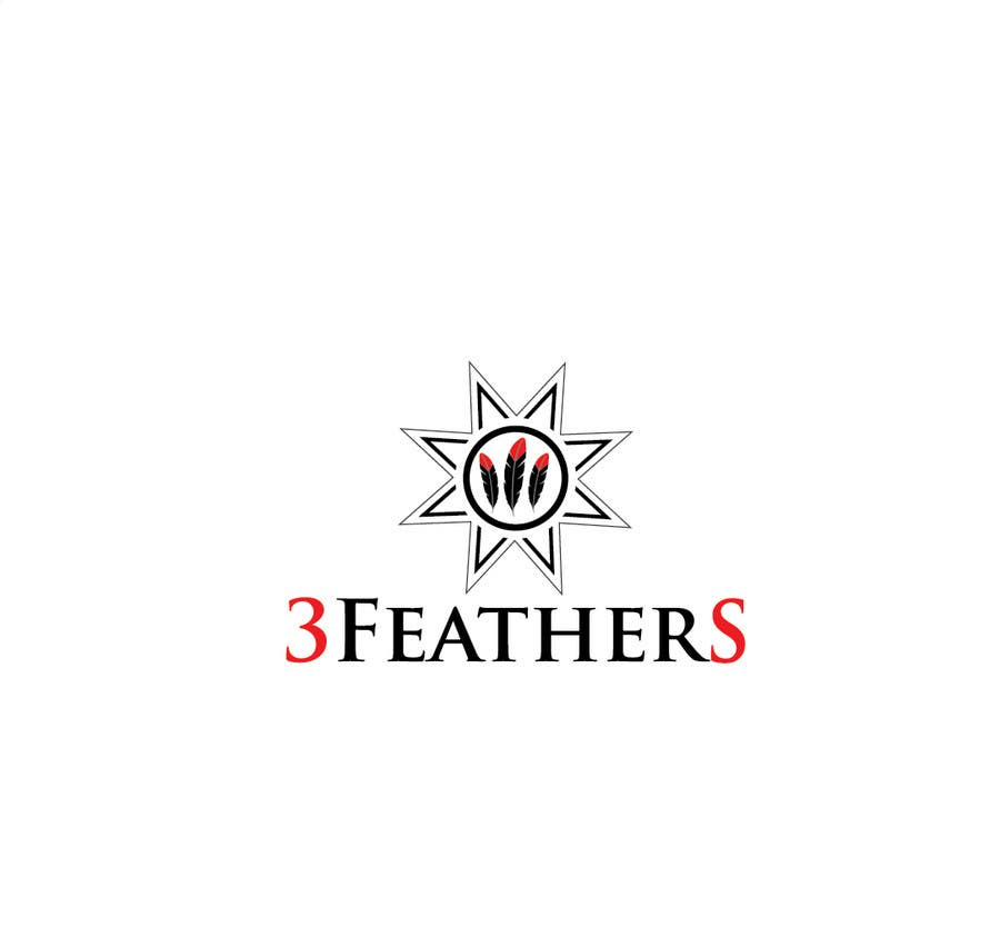 Konkurrenceindlæg #                                        91                                      for                                         Design a Logo for 3 Feathers Star Quilts