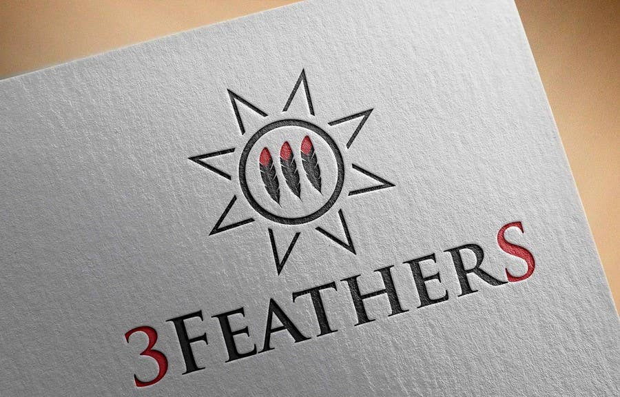 Konkurrenceindlæg #                                        135                                      for                                         Design a Logo for 3 Feathers Star Quilts