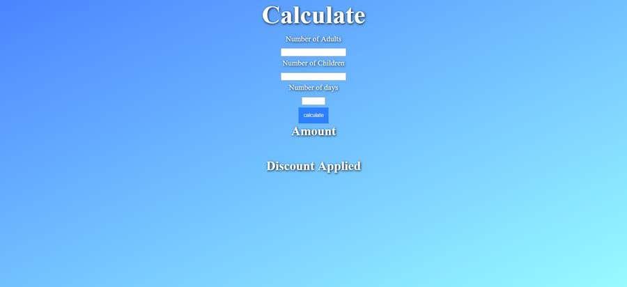 Bài tham dự cuộc thi #4 cho simple Ski pass rental calculator (javascript+html)