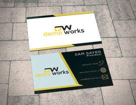 #164 para Design Business Card por mdmamunmiah570