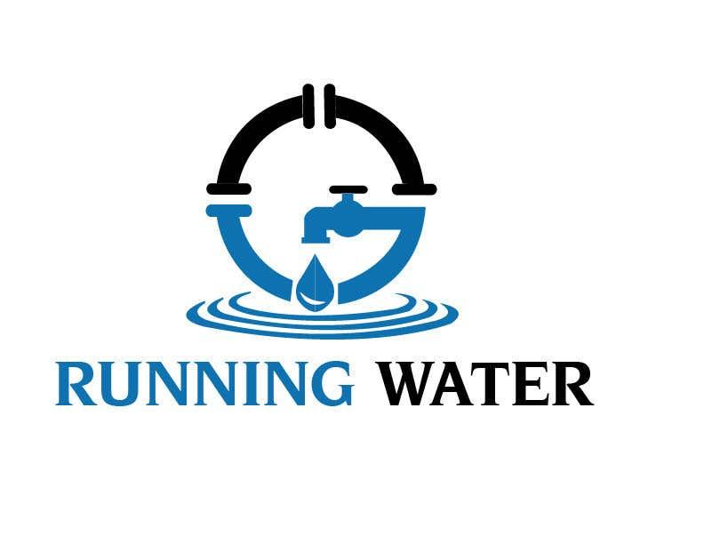"Kilpailutyö #9 kilpailussa Logo for ""Running Water Events"" races and charity"