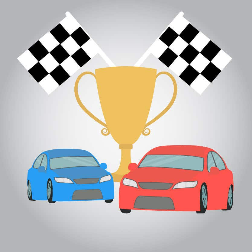 Contest Entry #5 for Make a Watercolor Race Car design in Vector file