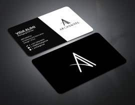 #38 for Redesign business cards in modern, clean look in black & white or gold & white af mrsmhit835