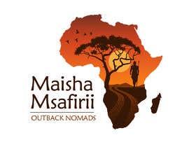 nº 17 pour Maisha.msafirii Logo Design for outback nomads par qaisahmed
