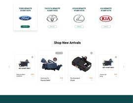 #43 para Design UI/UX for the main page of  our eCommerce site por salmanabu