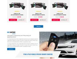 #60 para Design UI/UX for the main page of  our eCommerce site por techiesways
