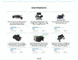 #33 para Design UI/UX for the main page of  our eCommerce site por soykothosen16030