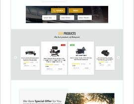 #47 para Design UI/UX for the main page of  our eCommerce site por soykothosen16030