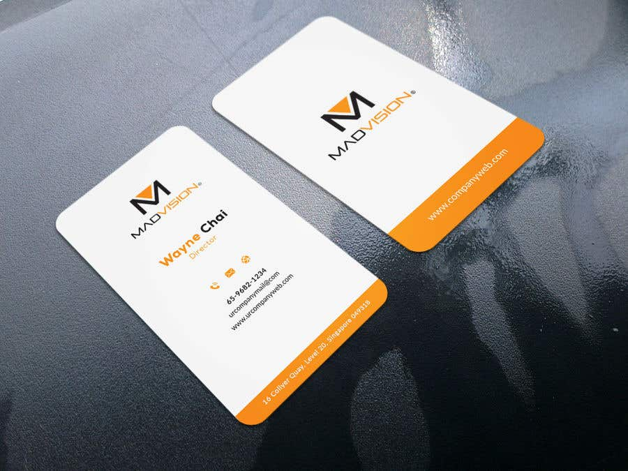Proposition n°472 du concours Layout Business card