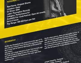 Nro 3 kilpailuun DJ protofolio käyttäjältä saviyaa