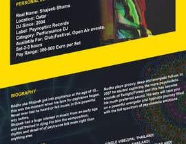 Nro 11 kilpailuun DJ protofolio käyttäjältä saviyaa