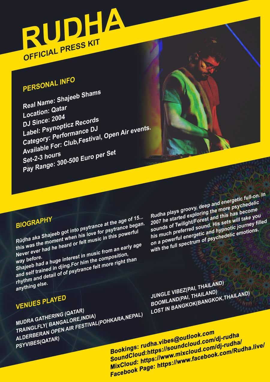 Kilpailutyö #14 kilpailussa DJ protofolio