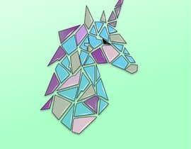 #60 for Create Geometric Unicorn Logo af zdravcovladimir