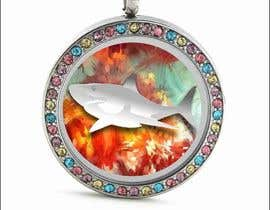 #22 untuk Stainless Steel Jewelry Designs - Shark Oil Diffuser Locket oleh Cmyksonu