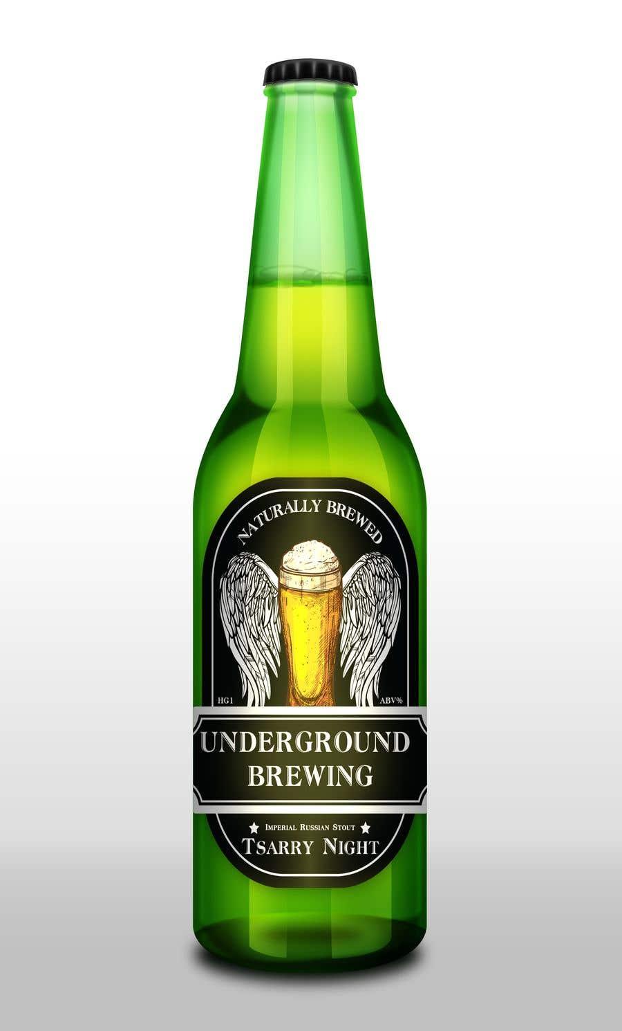 """Intrarea #32 pentru concursul """"Design beer bottle labels"""""""