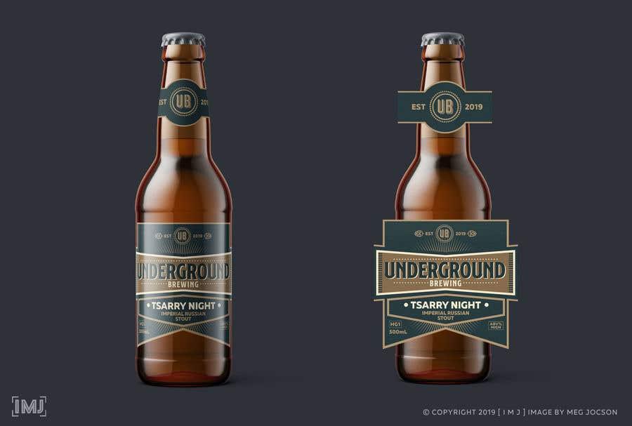 """Intrarea #16 pentru concursul """"Design beer bottle labels"""""""