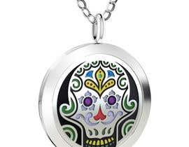 tranan8485 tarafından Stainless Steel Jewelry Designs - Sugar Skull Oil Diffuser Locket için no 11