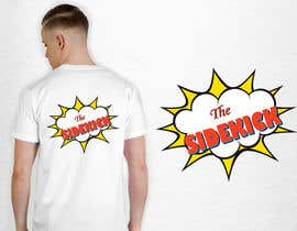 """#87 for Text for tshirts """"The Superhero"""" and """"The Sidekick"""" by luphy"""