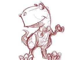 #32 for T-shirt Design - Cartoon T Rex af ToaMota