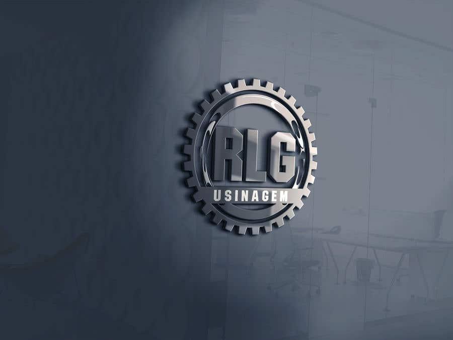 "Konkurrenceindlæg #61 for Create Logo ""RLG USINAGEM"""