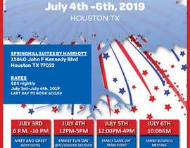 #1 для 4TH OF JULY THEMED 5 DAY EVENT ITINERARY FLYER NEEDED от jostcity