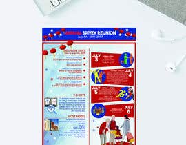 #23 для 4TH OF JULY THEMED 5 DAY EVENT ITINERARY FLYER NEEDED от hossiniqbal54