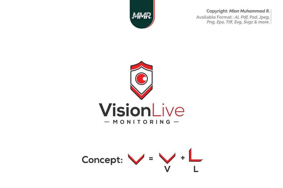 Penyertaan Peraduan #53 untuk Camera security company logo