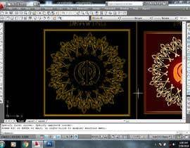 #9 untuk CAD Drawing of modified Sikh Khanda oleh wilsontiruvalla