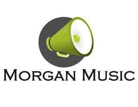 #62 untuk Design a Logo for Morgan Music oleh bojanantonijevic